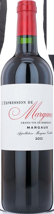 2012 L'EXPRESSION DE MARGAUX Ulysse Cazabonne, Lea & Sandeman
