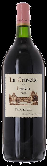 2012 LA GRAVETTE DE CERTAN Pomerol Vieux Château Certan, Lea & Sandeman