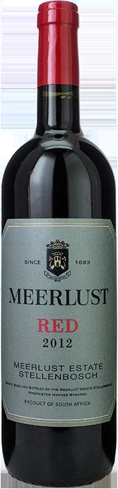 2012 MEERLUST RED, Lea & Sandeman