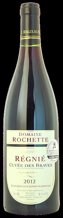 2012-RÉGNIÉ-Cuvée-des-Braves-Domaine-Rochette