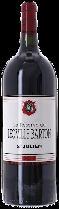 2012 RÉSERVE DE LÉOVILLE BARTON Saint Julien, Lea & Sandeman