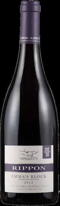 2012 RIPPON Emma's Block Pinot Noir Mature Vine Rippon Vineyards, Lea & Sandeman