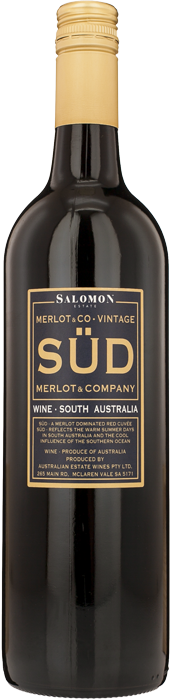 2012 SÜD MERLOT & CO. Merlot Salomon Finiss River Estate, Lea & Sandeman