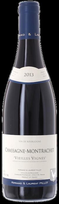 2013 CHASSAGNE MONTRACHET Rouge Vieilles Vignes Domaine Fernand & Laurent Pillot, Lea & Sandeman