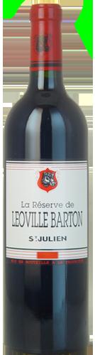 2013 RÉSERVE DE LÉOVILLE BARTON Saint Julien, Lea & Sandeman