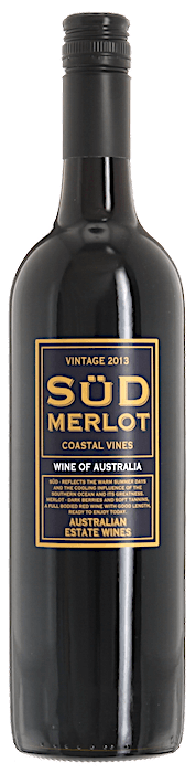2013 SÜD MERLOT & CO. Merlot Salomon Finniss River Estate, Lea & Sandeman