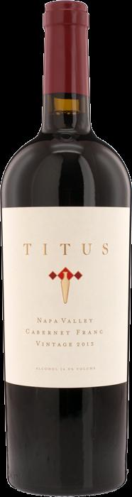 2013 TITUS Cabernet Franc Titus Vineyards, Lea & Sandeman