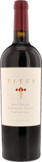 2013 TITUS Cabernet Franc Titus Vineyards