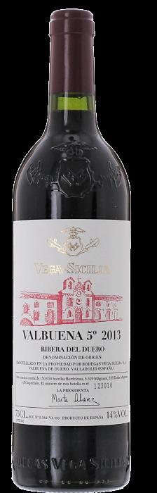 2013 VALBUENA Bodegas Vega Sicilia, Lea & Sandeman