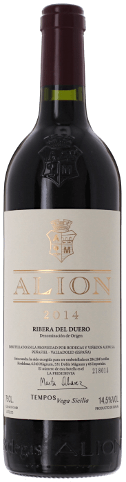 2014 ALION Bodegas Alion, Lea & Sandeman