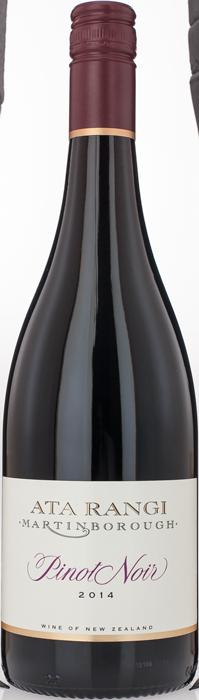 2014 ATA RANGI Pinot Noir, Lea & Sandeman