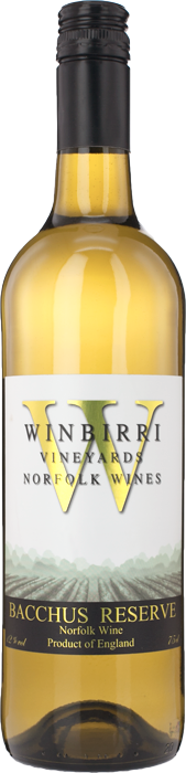 2014 BACCHUS RESERVE Dry White English wine  Winbirri Vineyards, Lea & Sandeman