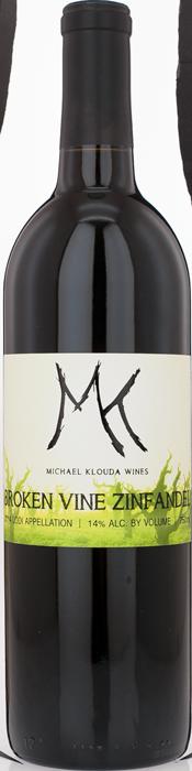 2014 BROKEN VINE ZINFANDEL Michael Klouda Wines, Lea & Sandeman