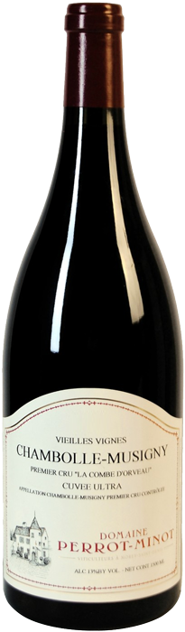 2014 CHAMBOLLE MUSIGNY Cuvée Ultra 1er Cru Combe d'Orveau Domaine Christophe Perrot-Minot, Lea & Sandeman