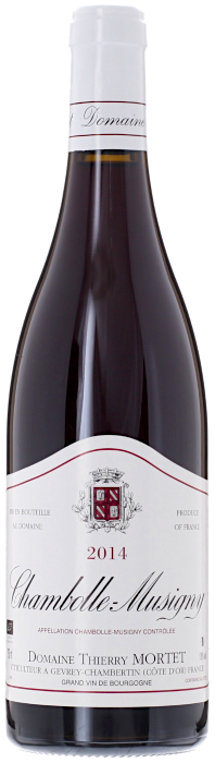2014 CHAMBOLLE MUSIGNY Domaine Thierry Mortet, Lea & Sandeman