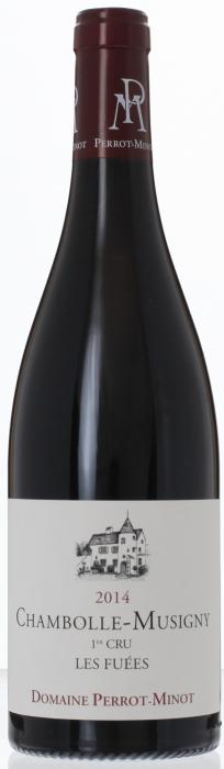 2014 CHAMBOLLE MUSIGNY Vieilles Vignes 1er Cru Les Fuées Domaine Christophe Perrot-Minot, Lea & Sandeman