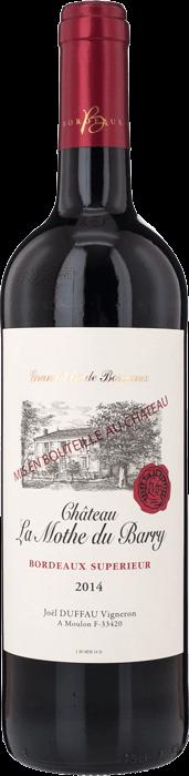 2014 CHÂTEAU LA MOTHE DU BARRY Bordeaux Supérieur, Lea & Sandeman