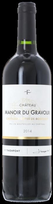 2014 CHÂTEAU MANOIR DU GRAVOUX Côtes de Castillon, Lea & Sandeman