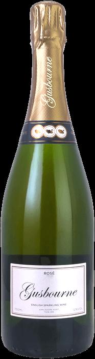 2014 GUSBOURNE Rosé Brut English Sparkling Wine, Lea & Sandeman