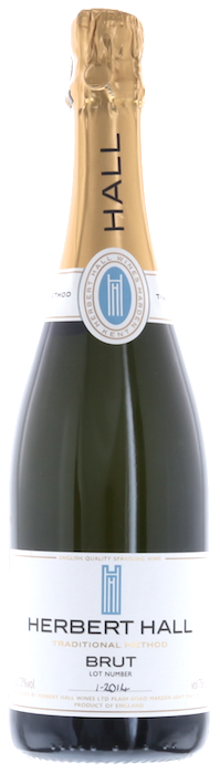 2014 HERBERT HALL Brut English Sparkling Wine, Lea & Sandeman