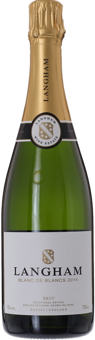 2014 LANGHAM ESTATE Blanc de Blancs Brut English Sparkling Wine, Lea & Sandeman