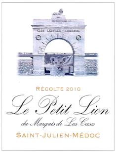 2014 LE PETIT LION Saint Julien Château Leoville Las Cases, Lea & Sandeman