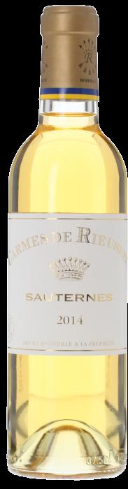 2014 LES CARMES DE RIEUSSEC Sauternes Château Rieussec, Lea & Sandeman
