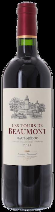 2014 LES TOURS DE BEAUMONT Médoc, Lea & Sandeman