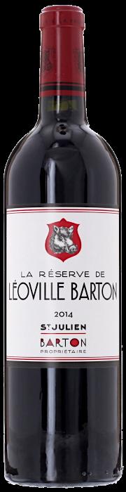 2014 RÉSERVE DE LÉOVILLE BARTON Saint Julien, Lea & Sandeman