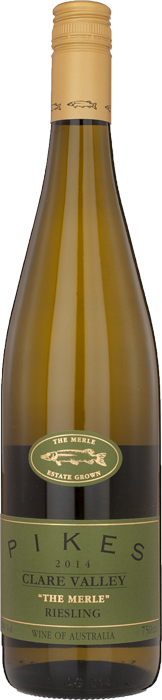 2014 RIESLING 'The Merle' Pikes Polish Hill River Estate, Lea & Sandeman