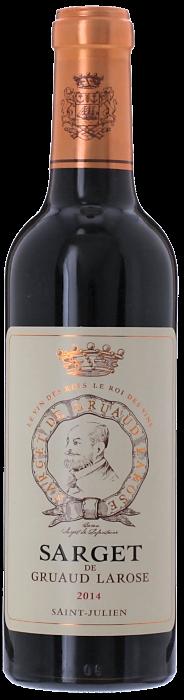 2014 SARGET DE GRUAUD LAROSE du Château Gruaud Larose Saint Julien, Lea & Sandeman