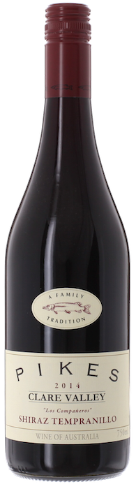 2014 SHIRAZ TEMPRANILLO Los Companeros Pikes Polish Hill River Estate, Lea & Sandeman