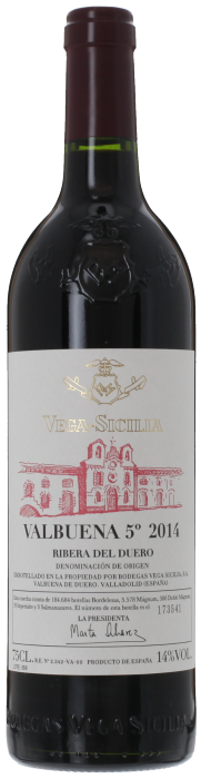 2014 VALBUENA Bodegas Vega Sicilia, Lea & Sandeman