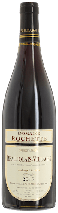 2015 BEAUJOLAIS VILLAGES Domaine Rochette, Lea & Sandeman