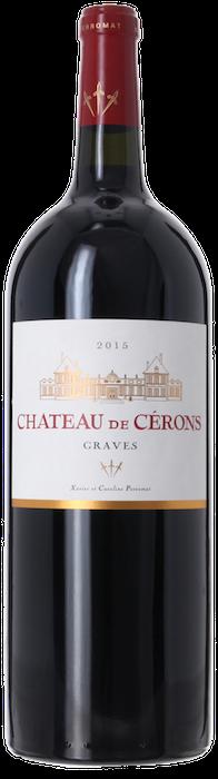 2015 CHÂTEAU DE CÉRONS Graves, Lea & Sandeman