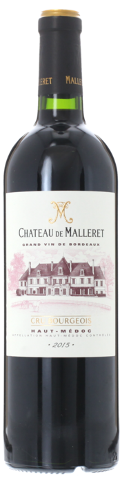 2015 CHÂTEAU DE MALLERET Cru Bourgeois Haut Médoc, Lea & Sandeman