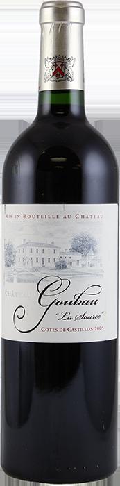 2015 CHÂTEAU GOUBAU La Source Côtes de Castillon, Lea & Sandeman
