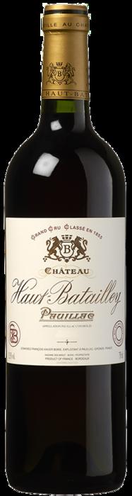 2015 CHÂTEAU HAUT BATAILLEY 5ème Cru Classé Pauillac, Lea & Sandeman