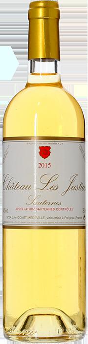 2015 CHÂTEAU LES JUSTICES Sauternes, Lea & Sandeman