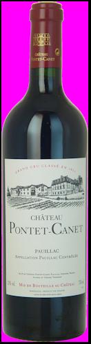 2012-CHÂTEAU-PONTET-CANET-5ème-Cru-Classé-Pauillac