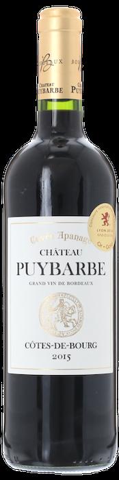 2015 CHÂTEAU PUYBARBE Cuvée Apanage Côtes de Bourg, Lea & Sandeman