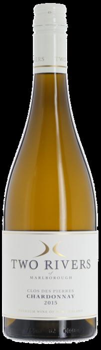 2015 CLOS DES PIERRES Chardonnay Two Rivers of Marlborough, Lea & Sandeman