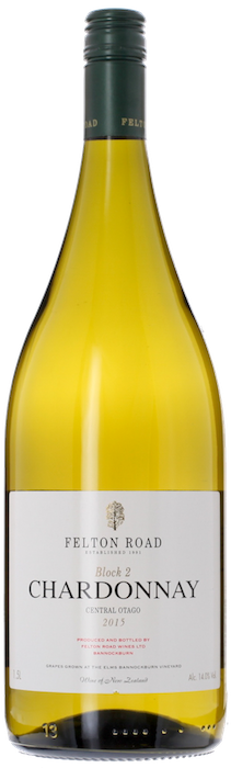 2015 FELTON ROAD Block 2 Chardonnay, Lea & Sandeman