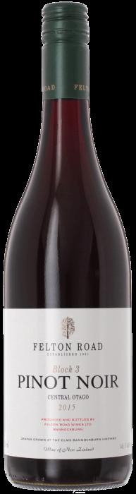 2015 FELTON ROAD Block 3 Pinot Noir, Lea & Sandeman
