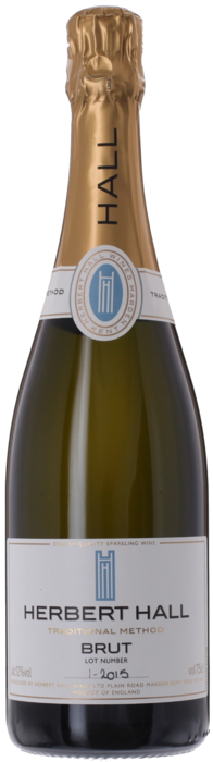 2015 HERBERT HALL Brut English Sparkling Wine, Lea & Sandeman