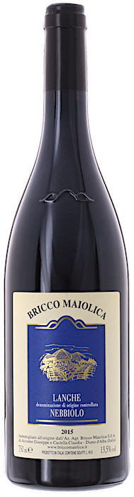 2015 LANGHE NEBBIOLO Bricco Maiolica, Lea & Sandeman