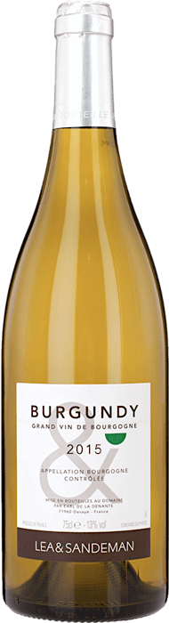 2015 LEA & SANDEMAN White Burgundy Bourgogne Blanc, Lea & Sandeman