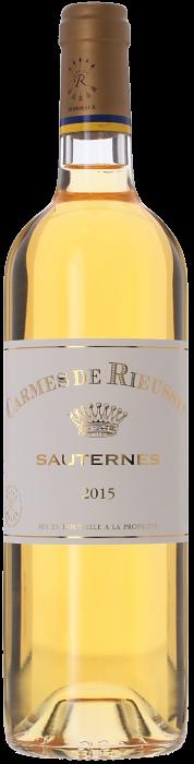 2015 LES CARMES DE RIEUSSEC Sauternes Château Rieussec, Lea & Sandeman