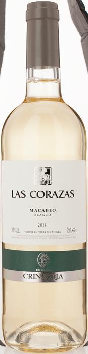 2015 MACABEO Las Corazas Bodegas Roqueta, Lea & Sandeman