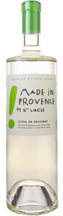 2015 MADE IN PROVENCE! Premium White Domaine Sainte Lucie, Lea & Sandeman